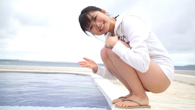 【倉沢しえりキャプ画像】笑顔が可愛いFカップ巨乳の童顔お姉ちゃん! 35