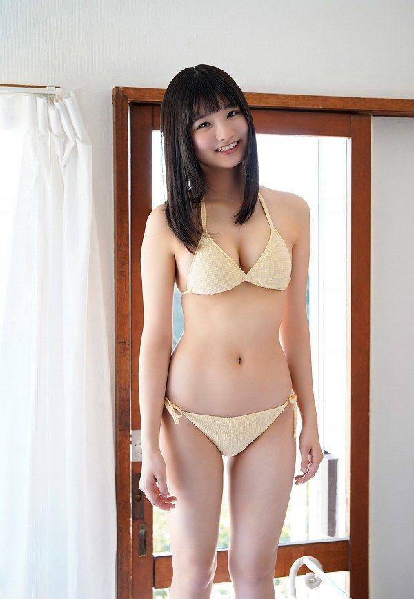 【倉沢しえりキャプ画像】笑顔が可愛いFカップ巨乳の童顔お姉ちゃん! 63