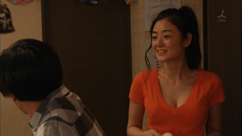 【片山萌美濡れ場画像】女優でタレントでグラドルもやってるGカップお姉さん 14