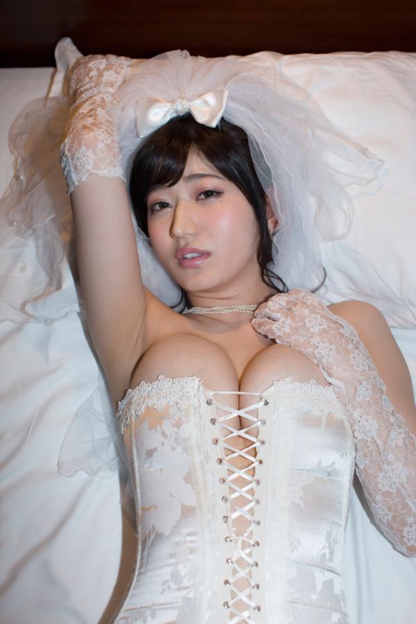 【月城まゆキャプ画像】可愛くて色気もあるFカップ巨乳美女が泡まみれ! 66