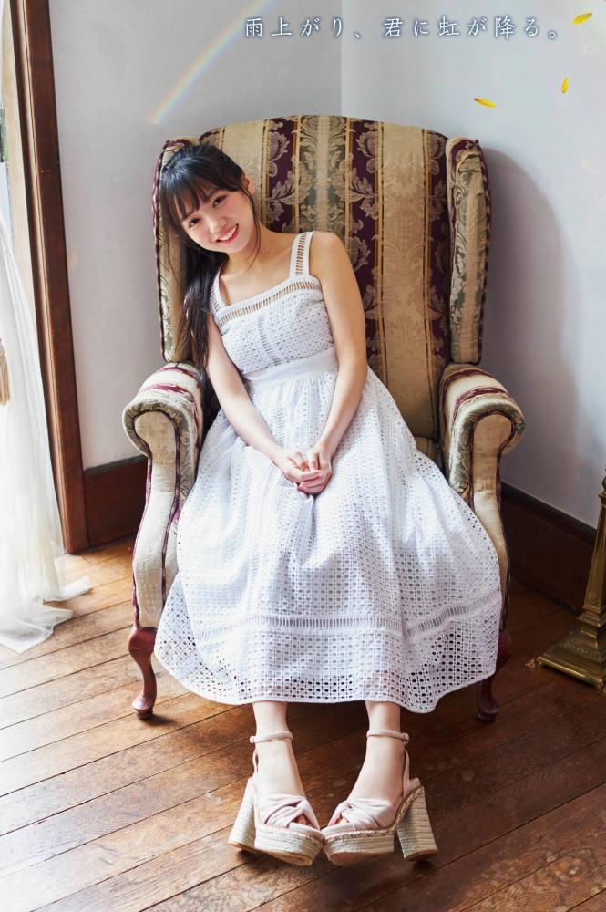 【齊藤京子グラビア画像】ビキニを着けると案外大きなおっぱいにドキドキ! 12