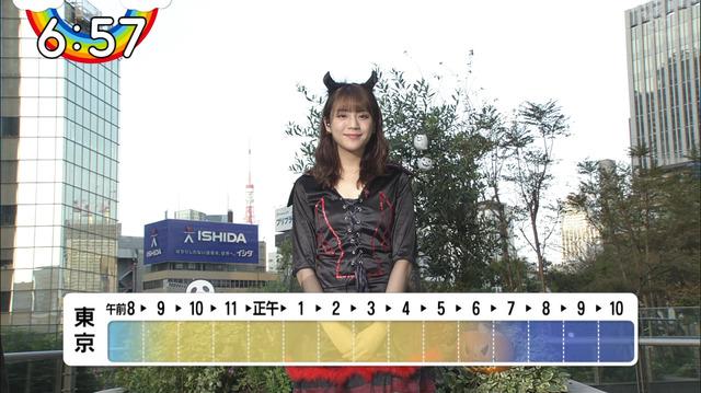 【貴島明日香キャプ画像】お天気キャスターもやってるモデルのスレンダーボディ 09
