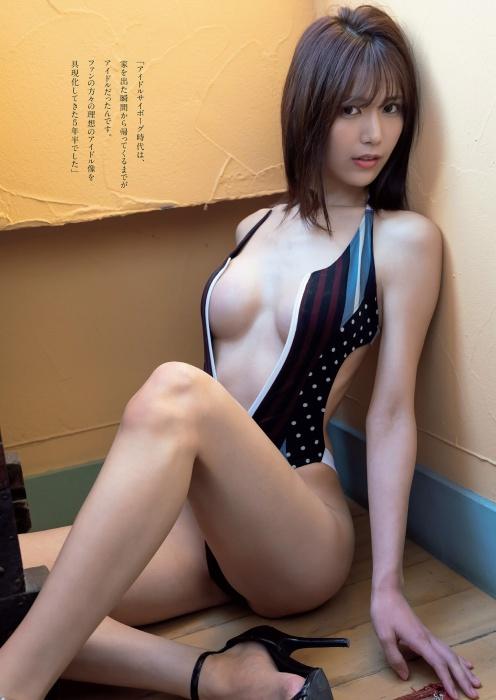 【森のんのエロ画像】スレンダーな高身長8頭身エロボディ美少女! 04