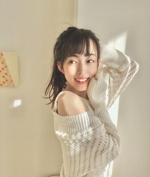 【森のんのエロ画像】スレンダーな高身長8頭身エロボディ美少女! 59