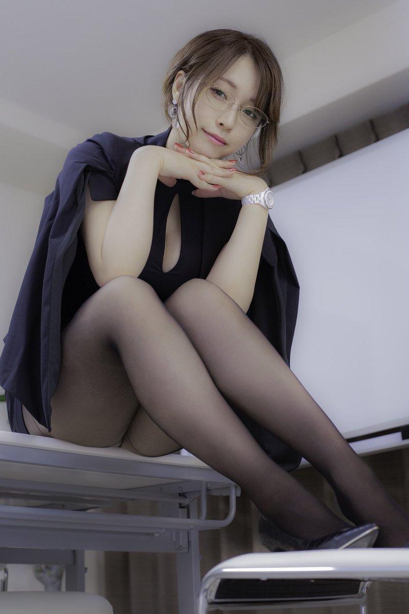 【コスプレエロ画像】椎名煌ちゃんがSNSで公開してるエロエロ衣装の数々 53