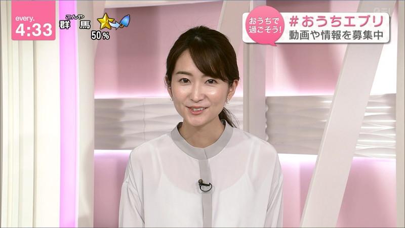 【女子アナキャプ画像】中島芽生さんのニット越しおっぱいや二の腕! 35