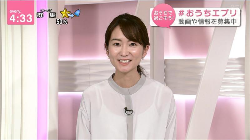【女子アナキャプ画像】中島芽生さんのニット越しおっぱいや二の腕! 36