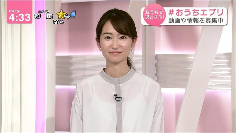 【女子アナキャプ画像】中島芽生さんのニット越しおっぱいや二の腕! 38