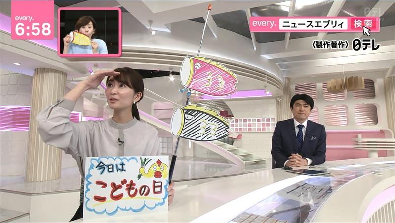 【女子アナキャプ画像】中島芽生さんのニット越しおっぱいや二の腕! 42