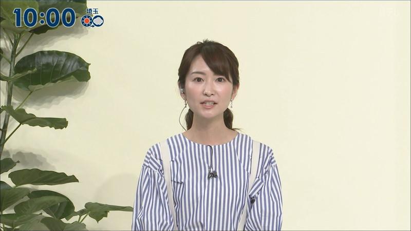 【女子アナキャプ画像】中島芽生さんのニット越しおっぱいや二の腕! 43