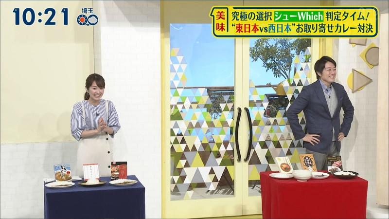 【女子アナキャプ画像】中島芽生さんのニット越しおっぱいや二の腕! 44