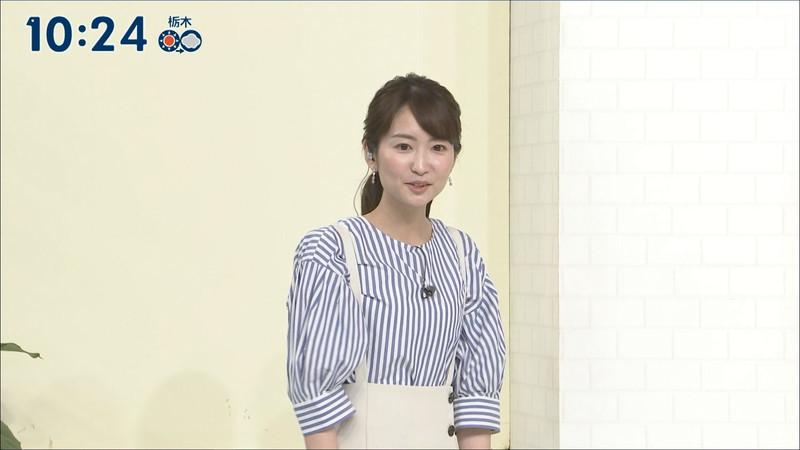 【女子アナキャプ画像】中島芽生さんのニット越しおっぱいや二の腕! 46