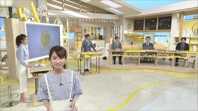 【女子アナキャプ画像】中島芽生さんのニット越しおっぱいや二の腕! 47