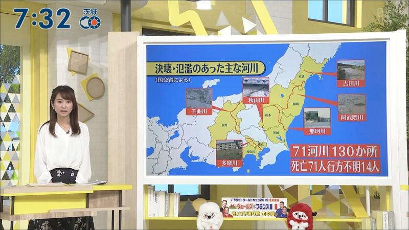 【女子アナキャプ画像】中島芽生さんのニット越しおっぱいや二の腕! 62