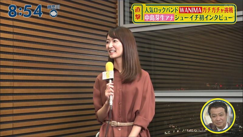 【女子アナキャプ画像】中島芽生さんのニット越しおっぱいや二の腕! 63