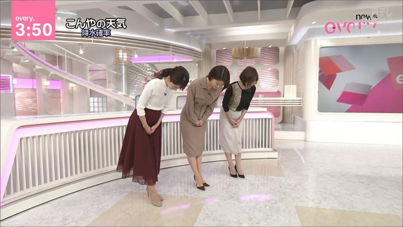 【女子アナキャプ画像】中島芽生さんのニット越しおっぱいや二の腕! 67