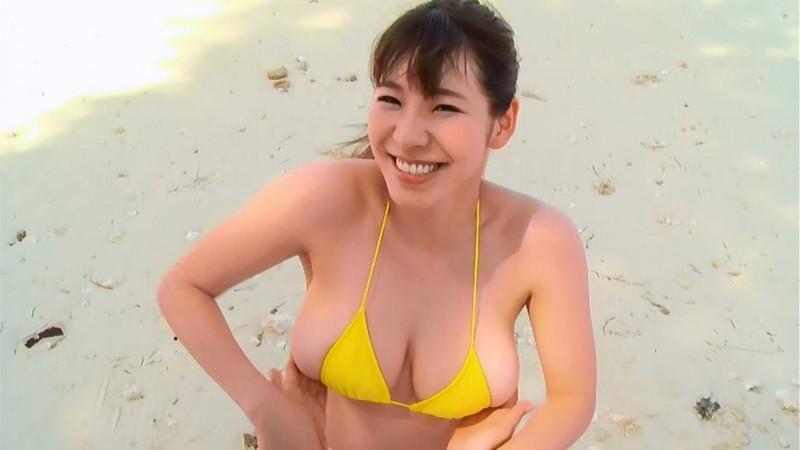 【夏来唯キャプ画像】2020年の巨乳アイドル賞を獲った爆乳巨尻お姉さん 11