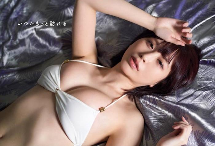 【宮内凛グラビア画像】色白肌が綺麗なスレンダー美少女の水着姿がエロい 07