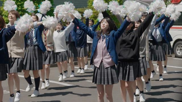 【髙橋ひかるキャプ画像】国民的美少女コンテスト出身女優の制服姿! 57