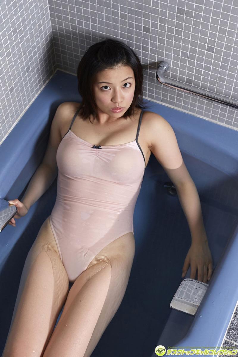 【辻柚音グラビア画像】消えたFカップ巨乳ボディグラビアアイドルの謎 20