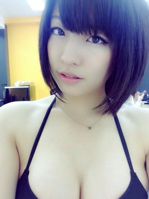 【辻柚音グラビア画像】消えたFカップ巨乳ボディグラビアアイドルの謎 68