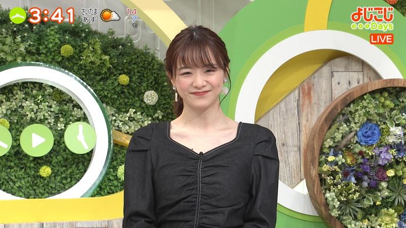 【女子アナキャプ画像】テレ東アナウンサー森香澄さんの着衣おっぱい! 19