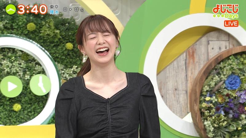 【女子アナキャプ画像】テレ東アナウンサー森香澄さんの着衣おっぱい! 22