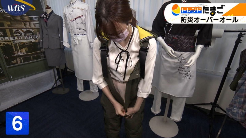 【女子アナキャプ画像】テレ東アナウンサー森香澄さんの着衣おっぱい! 46