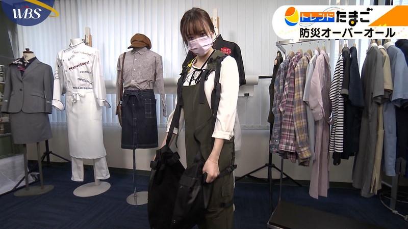 【女子アナキャプ画像】テレ東アナウンサー森香澄さんの着衣おっぱい! 51