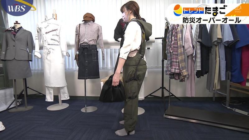 【女子アナキャプ画像】テレ東アナウンサー森香澄さんの着衣おっぱい! 53