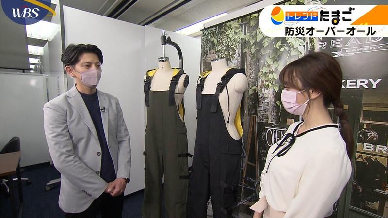 【女子アナキャプ画像】テレ東アナウンサー森香澄さんの着衣おっぱい! 57
