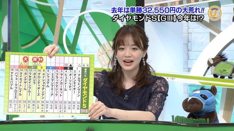 【女子アナキャプ画像】テレ東アナウンサー森香澄さんの着衣おっぱい! 62