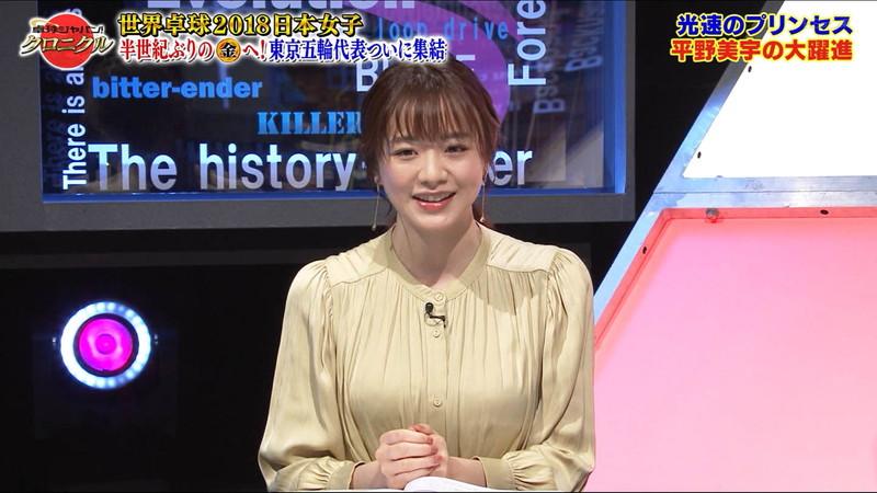 【女子アナキャプ画像】テレ東アナウンサー森香澄さんの着衣おっぱい! 66