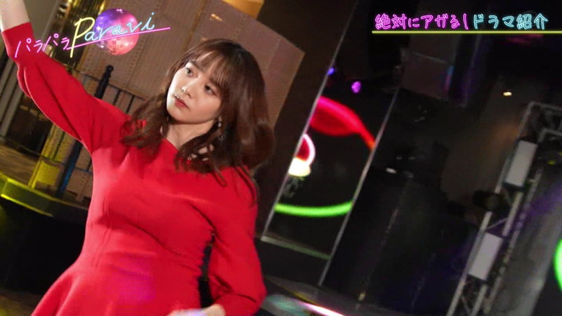 【女子アナキャプ画像】テレ東アナウンサー森香澄さんの着衣おっぱい! 69