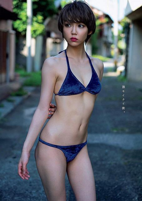 【山谷花純グラビア画像】ニンニンジャーでヒロインやってた勝ち気な女の子 04