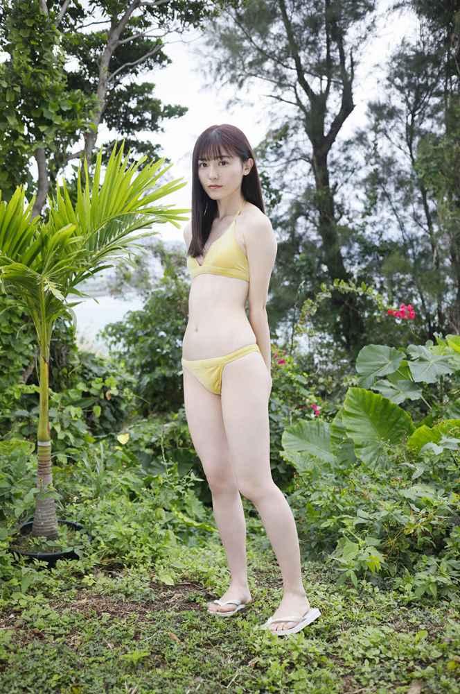 【吉井美優グラビア画像】アイドルグループ所属のスレンダー美女がエロい 36