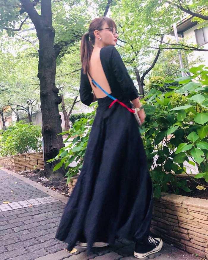【わたなべ麻衣エロ画像】読モ時代にブレイクした美人モデルのセミヌード 76