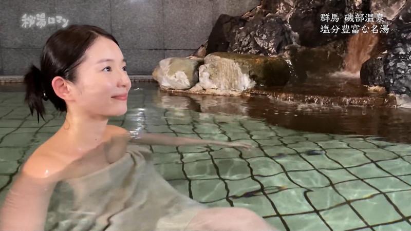 【温泉エロ画像】秘湯ロマンとかいう堂々と入浴シーンを見せてくれる番組w 52