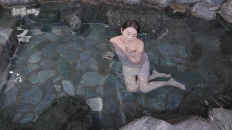 【温泉エロ画像】秘湯ロマンとかいう堂々と入浴シーンを見せてくれる番組w 58