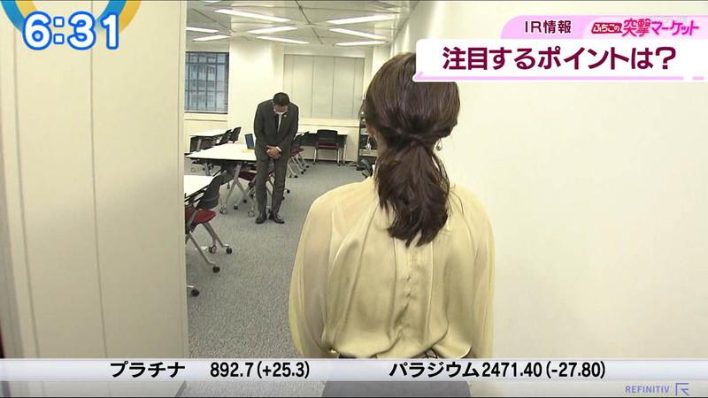 【女子アナキャプ画像】テレ東アナウンサーの着衣おっぱいと透けブラ! 04