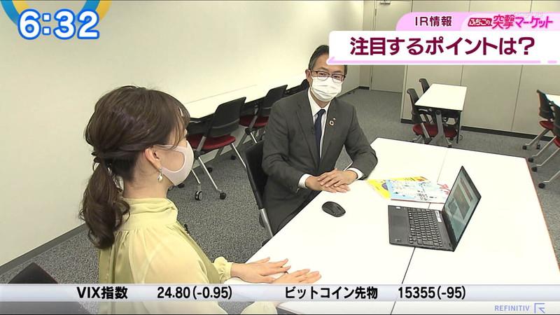 【女子アナキャプ画像】テレ東アナウンサーの着衣おっぱいと透けブラ! 07
