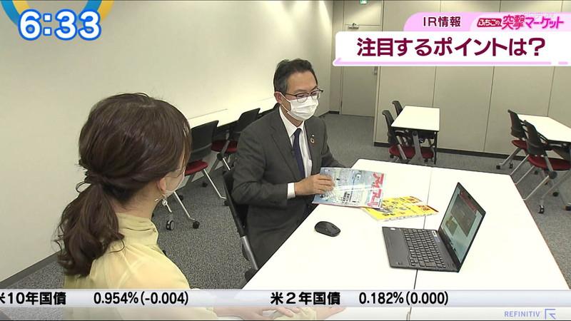 【女子アナキャプ画像】テレ東アナウンサーの着衣おっぱいと透けブラ! 09