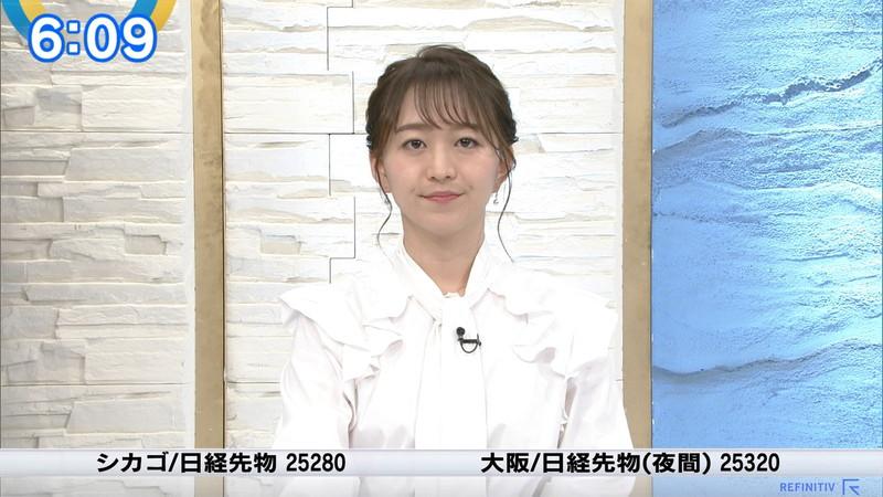 【女子アナキャプ画像】テレ東アナウンサーの着衣おっぱいと透けブラ! 20