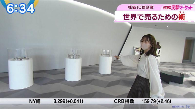 【女子アナキャプ画像】テレ東アナウンサーの着衣おっぱいと透けブラ! 21