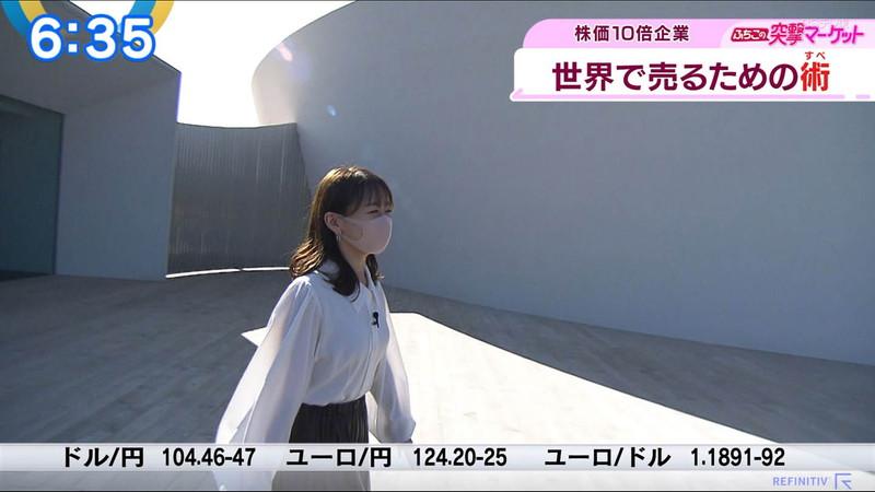 【女子アナキャプ画像】テレ東アナウンサーの着衣おっぱいと透けブラ! 23