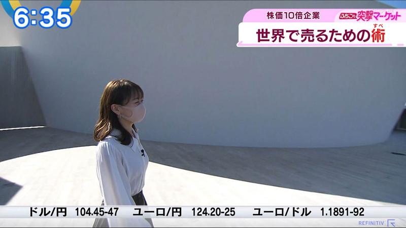 【女子アナキャプ画像】テレ東アナウンサーの着衣おっぱいと透けブラ! 24