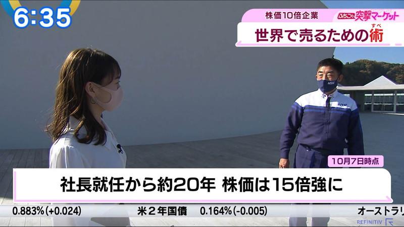 【女子アナキャプ画像】テレ東アナウンサーの着衣おっぱいと透けブラ! 25