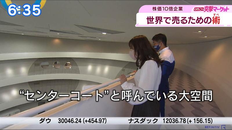 【女子アナキャプ画像】テレ東アナウンサーの着衣おっぱいと透けブラ! 26