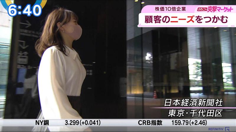 【女子アナキャプ画像】テレ東アナウンサーの着衣おっぱいと透けブラ! 34