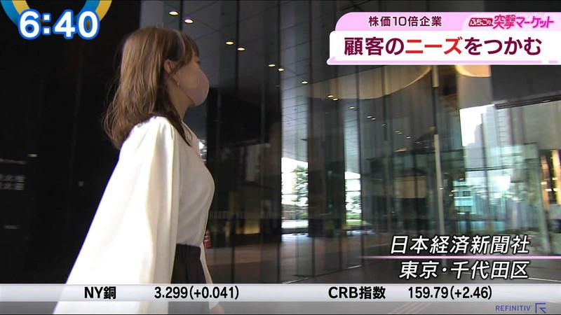【女子アナキャプ画像】テレ東アナウンサーの着衣おっぱいと透けブラ! 35